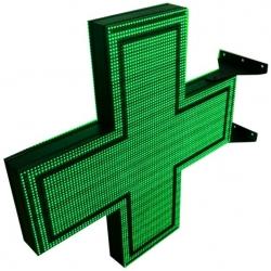 Krzyż Apteczny 1-kolorowy dwustronny KA1 D