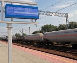 Rail station board PT208 FC