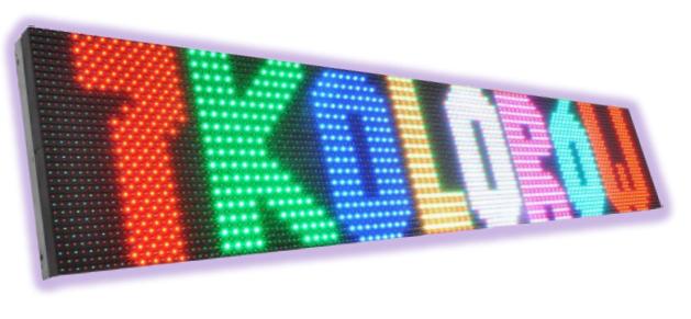 Text 7-colour / LedTechnology