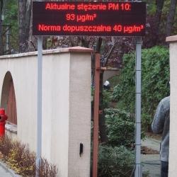 Meteorological display