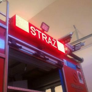 Wyświetlacze dla Straży Pożarnej