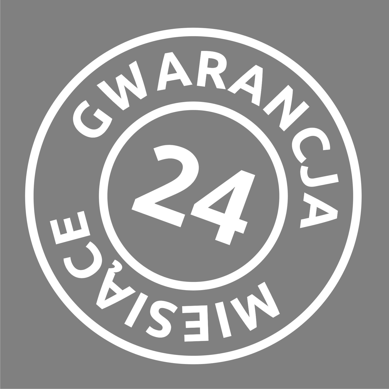 24 m gwarancja