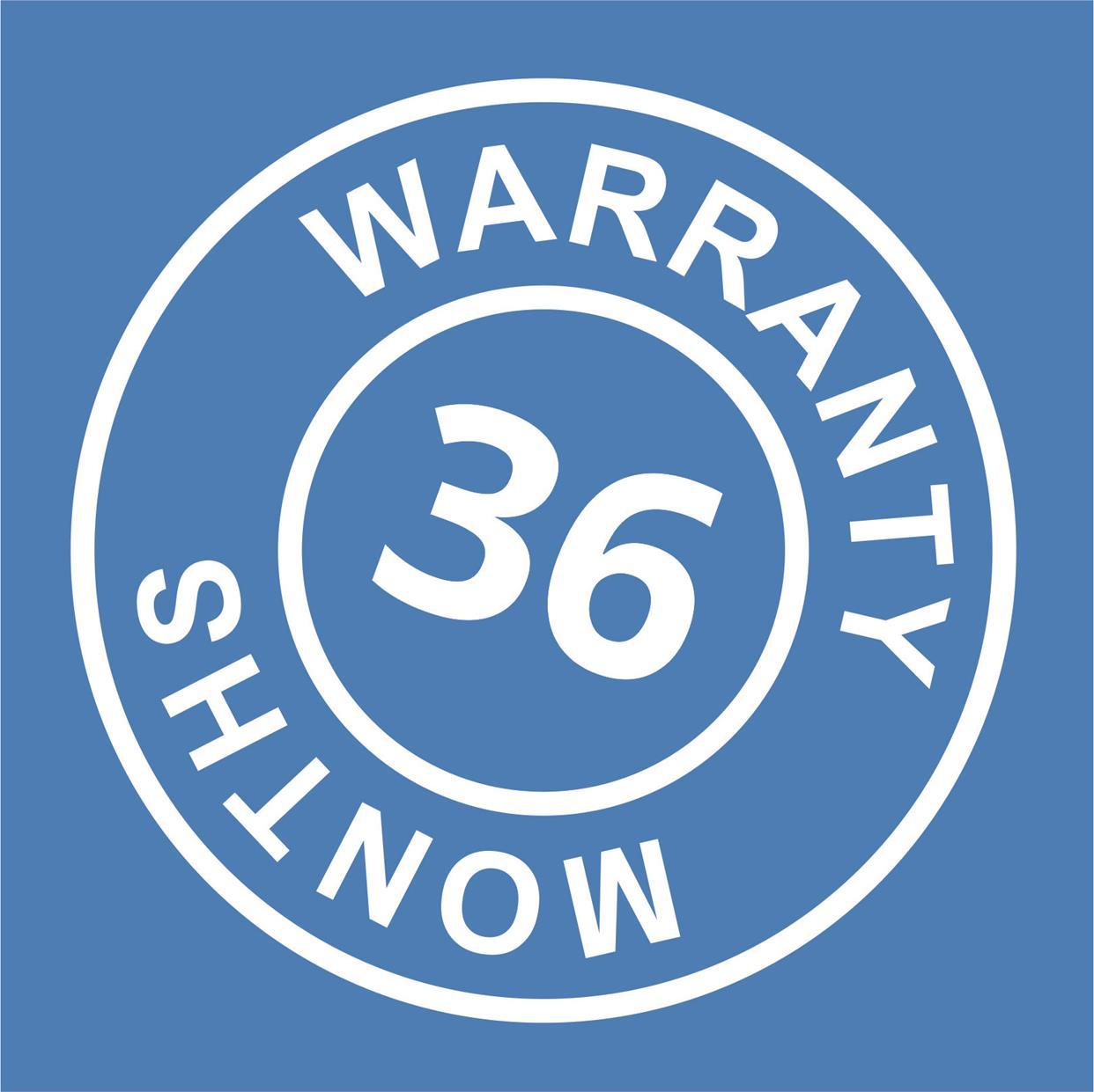 WARRANTY 36MSC-ANG