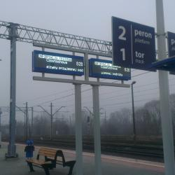 Rail station board PT208_3