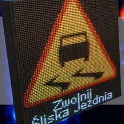 Variable message sign VMS-1