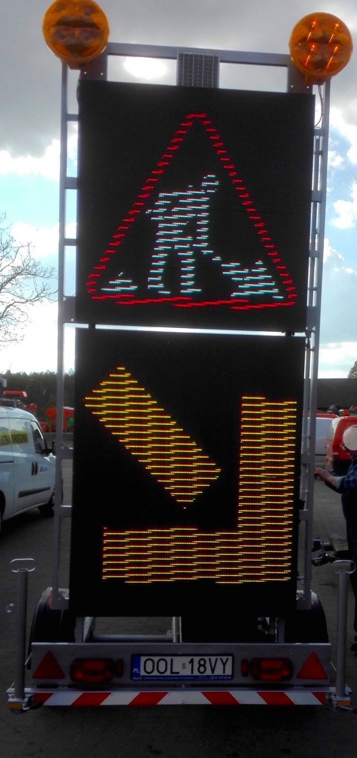 Variable message sign VMS-3