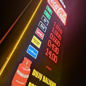 Wyświetlacze cenowe na stacje paliw.